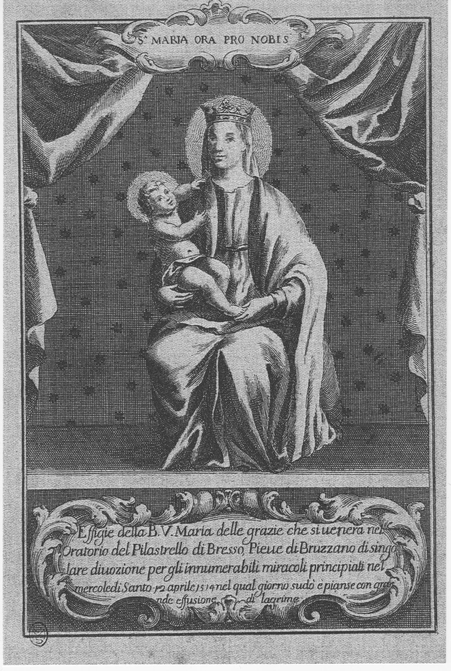 La Madonna del Pilastrello pianse